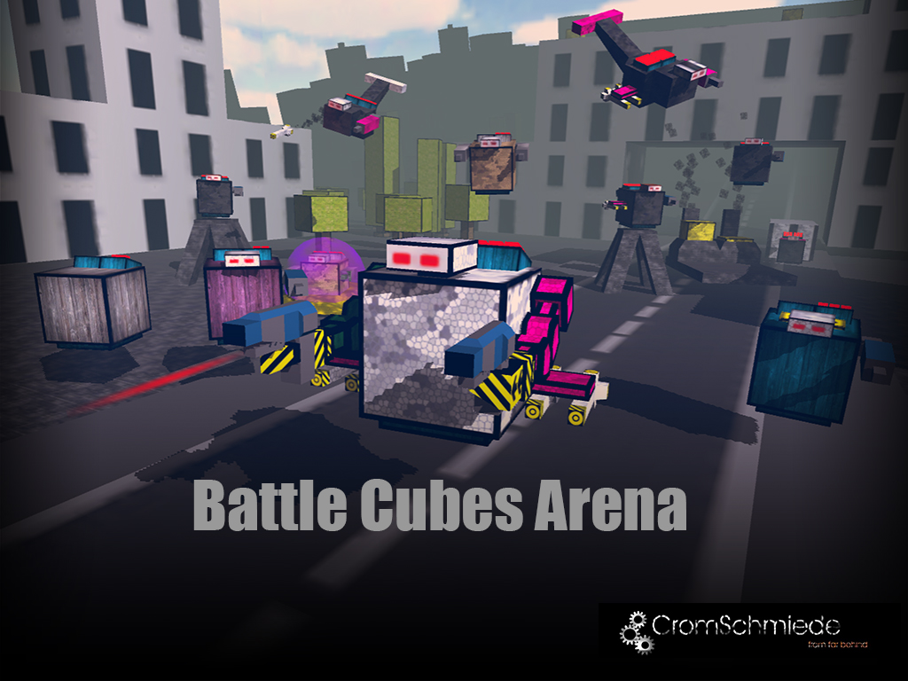 Link Battle Cubes Arena Trailer on Page